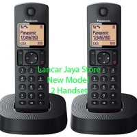 (Dijamin) Telepon Rumah/Telepon Wireless Panasonic KX-TGC312 Hitam