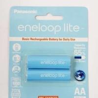 (Dijamin) Batery charge Panasonic Eneloop lite A2 1000mhz