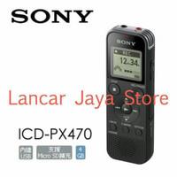 (Sale) Voice Recorder / Perekam Suara Sony ICD-PX470 Paket B