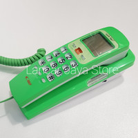 (Sale) Telepon Gantung/Telepon Kabel/Telepon Rumah Sahitel S37 Hijau