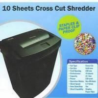 (Dijamin) SECURE EzSC-10A PAPER SHREDDER / PENGHANCUR KERTAS