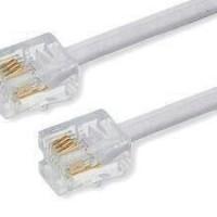 (Murah) Kabel Line Telephone Rumah 10 meter