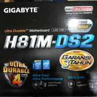 GIGABYTE GA-H81M-DS2 (LGA1150, H81, DDR3, SATA3, USB3)