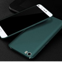 (Diskon) Xiaomi Mi 5 Sand Scrub Ultra Thin Hard Case Green 109107