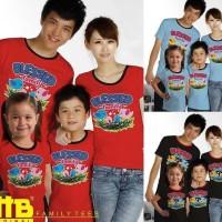 Hot !! Baju Kaos Pasangan Keluarga Couple Family Anak Ayah Bunda