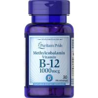 Puritan's Pride Methylcobalamin Vitamin B-12 1000 mcg isi 30 butir