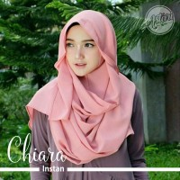 Jual Hijab Jilbab Pashmina Instan Tali / Pashtan Chiara Murah