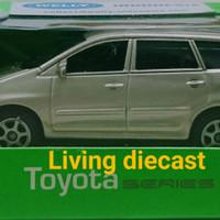 Diecast Miniatur Mobil Toyota Series - innova (Metalic brown Color)