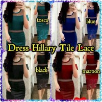 Dress Hillary Tile Lace