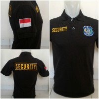 POLO SECURITY XXL - KAOS KERAH - POLO XXL - SHIRT PRIA - TERMURAH