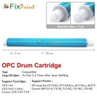 OPC Drum Toner Cartridge HP CP1025 CE314A (126A) Black Color Drum Unit