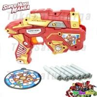 Mainan NERF Pistol dgn peluru lunak ( Soft bullet )