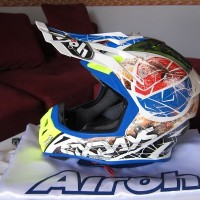 Helm Airoh Aviator 2 2 Limited Edition Six Day Original Cross Trail