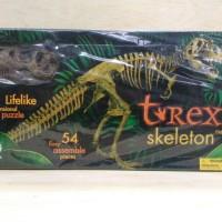 Geoworld Large 54 Piece Realistic 3D T-Rex Dinosaur Skeleton Fossil
