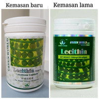 LECITHIN SOFTGEL GREEN WORLD/OBAT KOLESTEROL/KESEMUTAN/BATU EMPEDU