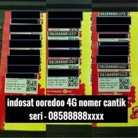 indosat ooredoo 4G nomer cantik kartu perdana im3 not mentari