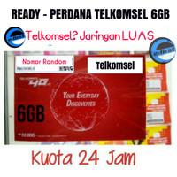 perdana simpati 6gb kuota internet 1gb + data telkomsel 5gb 4g 24 jam