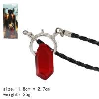 Kalung game dante kristal merah dmc devil may cry