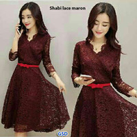 Dress Lace Shabie