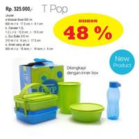 Tupperware T Pop Tpop Paket Tempat Makan Minum