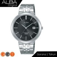 Alba Prestige Jam Tangan Black Sapphire Stainless Steel AS9D81X1