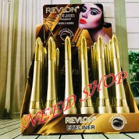 EYELINER REVLON GOLD LIQUID & PENCIL / PENSIL ALIS 2 IN 1
