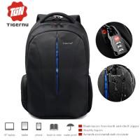 TIGERNU Tas Ransel Backpack Waterproof FREE GEMBOK B3105 - Black