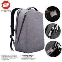 TIGERNU PREMIUM T-B3164 Waterproof FREE GEMBOK Anti Theft - Grey