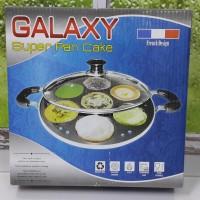 GALAXY SUPER PAN CAKE FRENCH DESIGN (CETAKAN KUE LUMPUR) 7 LUBANG