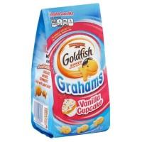 Pepperidge Farm Goldfish Graham Vanilla Cupcake Snack Cemilan Biskuit