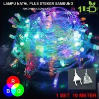 Lampu Natal LED Warna RGB Twinkle Light hias pohon tumblr dekor