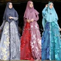 Gamis Syari Brokat Daiana Ori By Agoest. Dress Kebaya. Gaun Pengantin