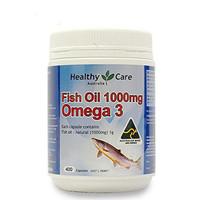 Healthy Care Fish Oil 1000mg Omega 3 - 400 caps