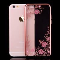 Samsung A7 2018 A750 Silicone Flower Back casing HP back Soft Case