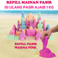 Refill Pasir Ajaib Model Sand 1kg