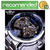 WINNER Jam Tangan Mechanical Luxury Pria - SLZa94 - Biru