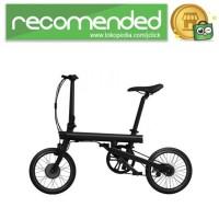 Xiaomi QiCycle Sepeda Elektrik Lipat Smart Bicycle - Hitam