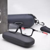 kacamata minus - frame kacamata pria minus baca OX8104 HITAM MERAH