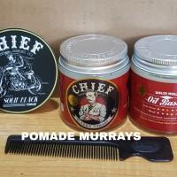 Jual Pomade Chief Red Oilbased 4.2oz + Free sisir Murah