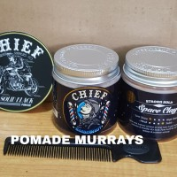 POMADE CHIEF BARBERNAUT SPACE CLAY STRONG HOLD 4.2 OZ FREE SISIR