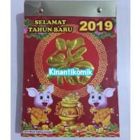 Kalender 2019 - Kalender China Harian Sobek Ukuran Sedang