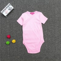 Baju Bayi Baru Lahir Katun Murah Onesie Jumpsuit Pink Dots - 0078