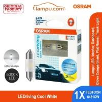 Osram Lampu Cabin Interior/Plat Mobil LEDriving Festoon - 6431CW