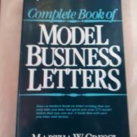 MODEL BUSINESS LETTER