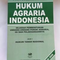Hukum Agraria Indonesia by Prof. Boedi Harsono