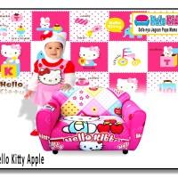 Sofa Mini Halo Kids - HELLO KITTY - Kursi Balita - Hadiah Anak