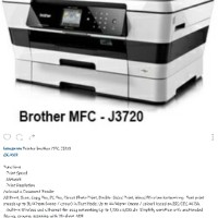 STARCONS - printer brother inkjet MFC J3720