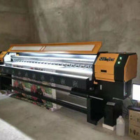 Mesin inkjet digital printing outdoor solvent printer 3,2meter