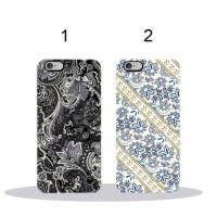 Custom Case HP Batik Hitam Putih Iphone Samsung Xiaomi LG OPPO dll