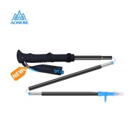 Aonijie Foldable Trekking Pole E4093 3 Sections - Trail Running Blue